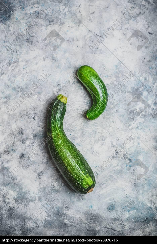 two, fresh, zucchini - 28976716