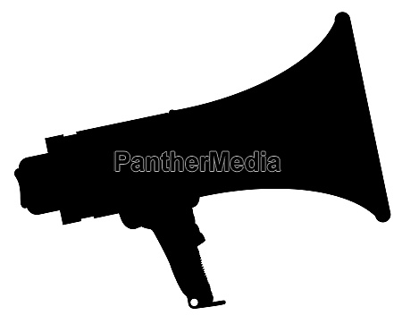 megaphone silhouette