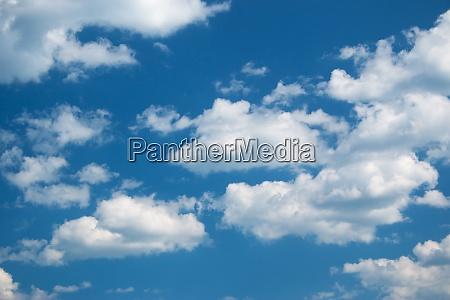 weisse wolken