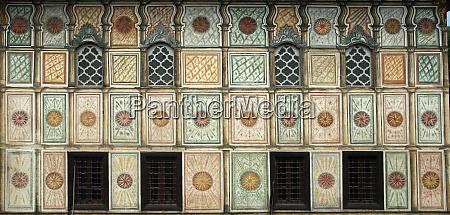 aladza, gemalt, moschee, tetovo, mazedonien - 28981663