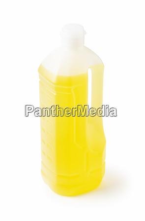 plastikflasche pflanzenoel