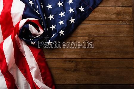 overhead amerika us flagge