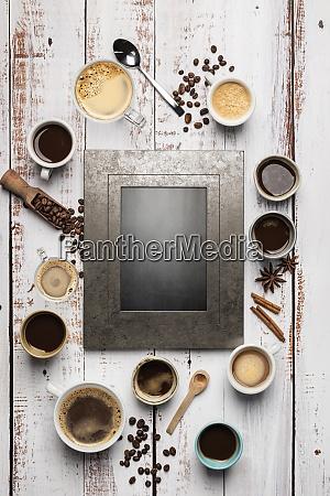 kaffeetassen zusammensetzung