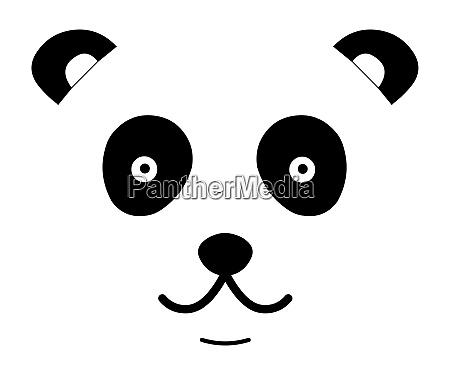 panda niedliches gesicht
