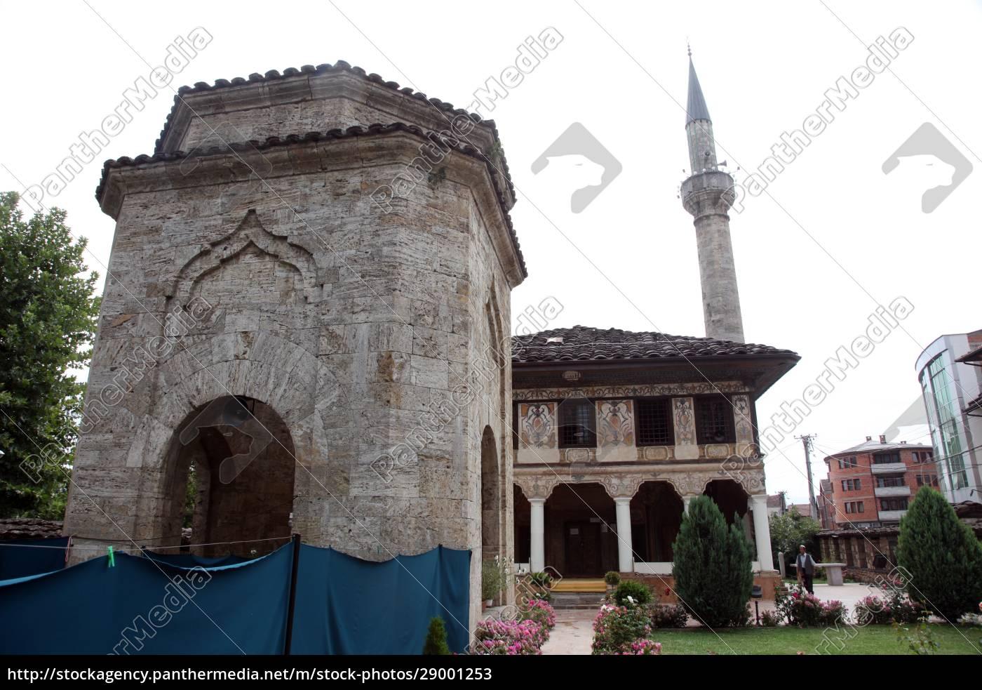 aladza, gemalt, moschee, tetovo, mazedonien - 29001253