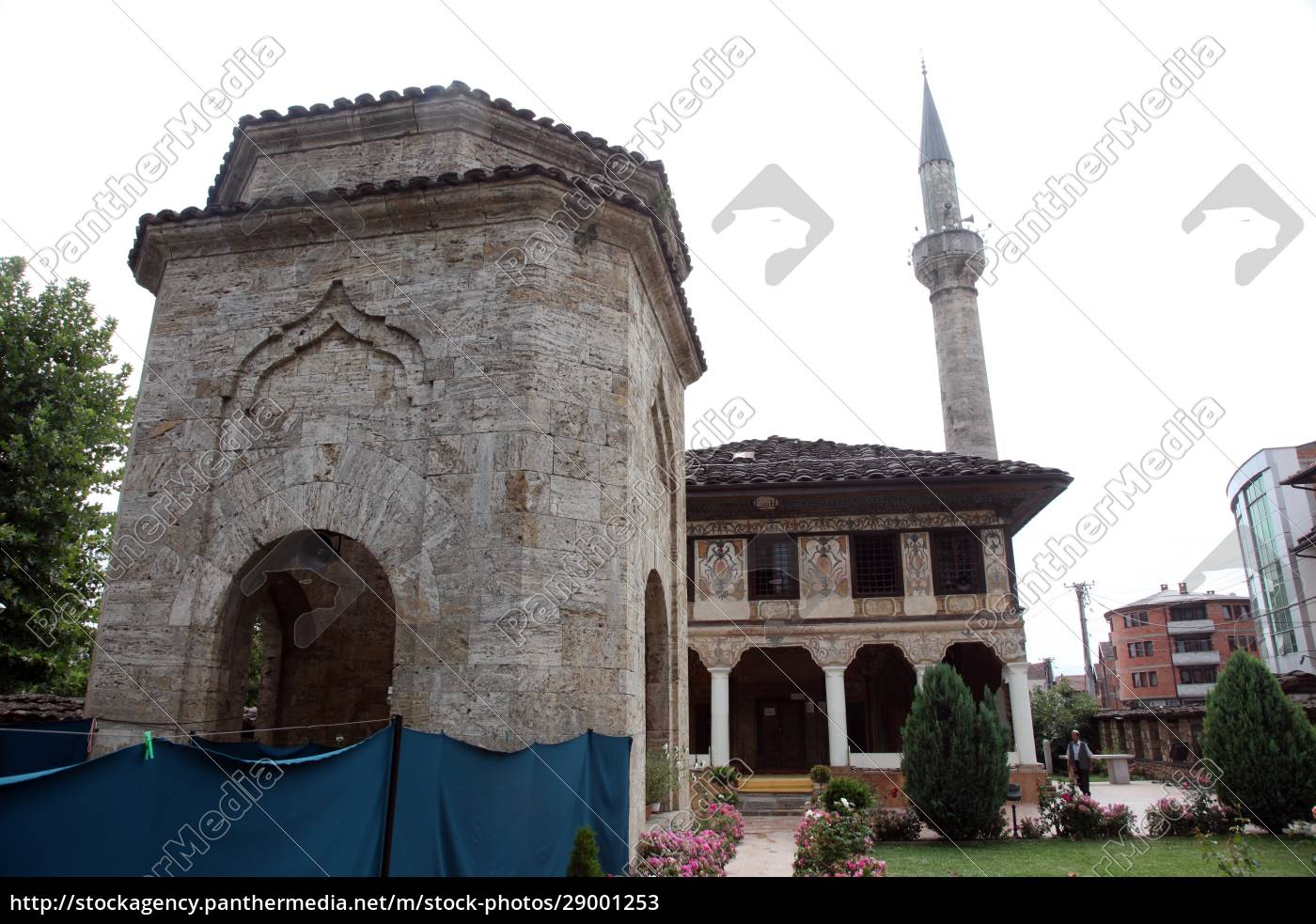 aladza, painted, mosque, , tetovo, , macedonia - 29001253