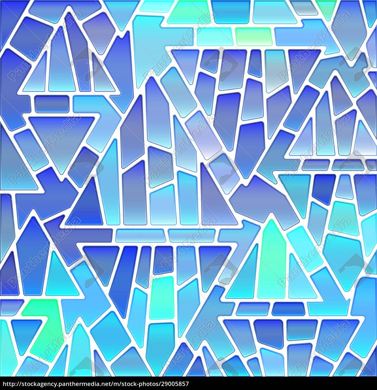 abstrakte, buntglas-mosaik, hintergrund - 29005857