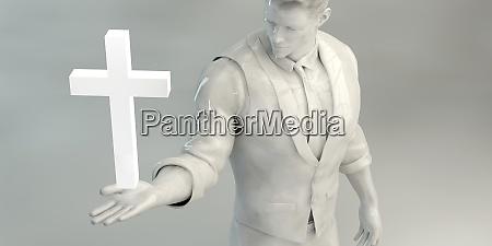 weg zur erloesung christliche kirche konzeptkunst