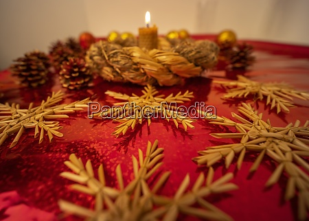 alte boehmische weihnacht stillleben