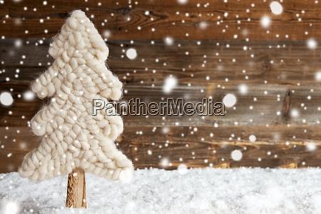 stoff weihnachtsbaum schnee kopie space schneeflocken
