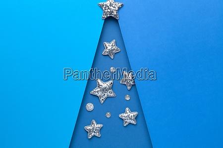 minimales weihnachtskonzept