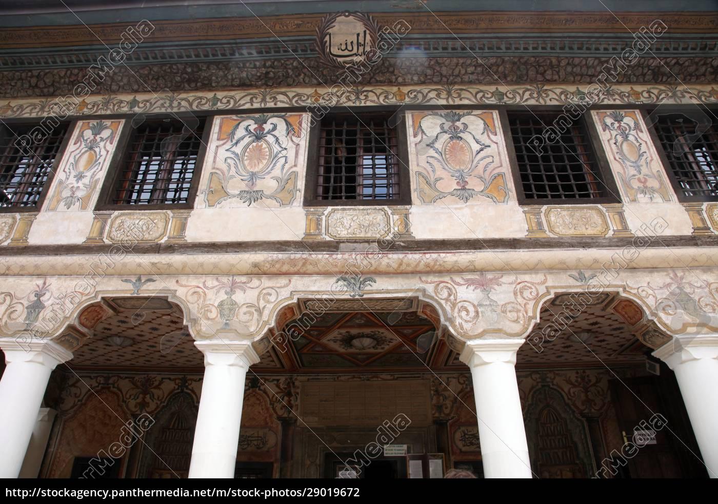 aladza, gemalt, moschee, tetovo, mazedonien - 29019672