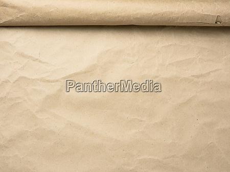 rolle braunes pergamentpapier kopierraum