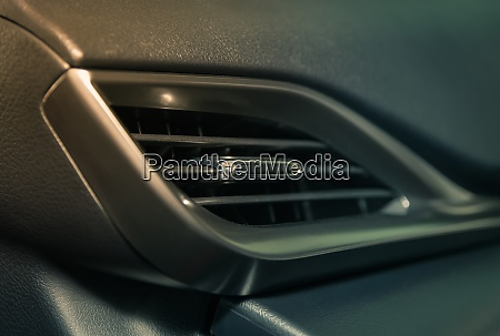 air vent im auto innenraum auf