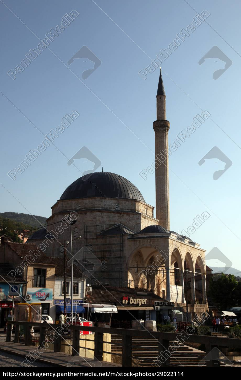 sinan-pascha-moschee, prizren, kosovo - 29022114