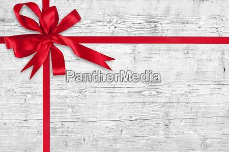 glaenzend und satinband frohe weihnachten und