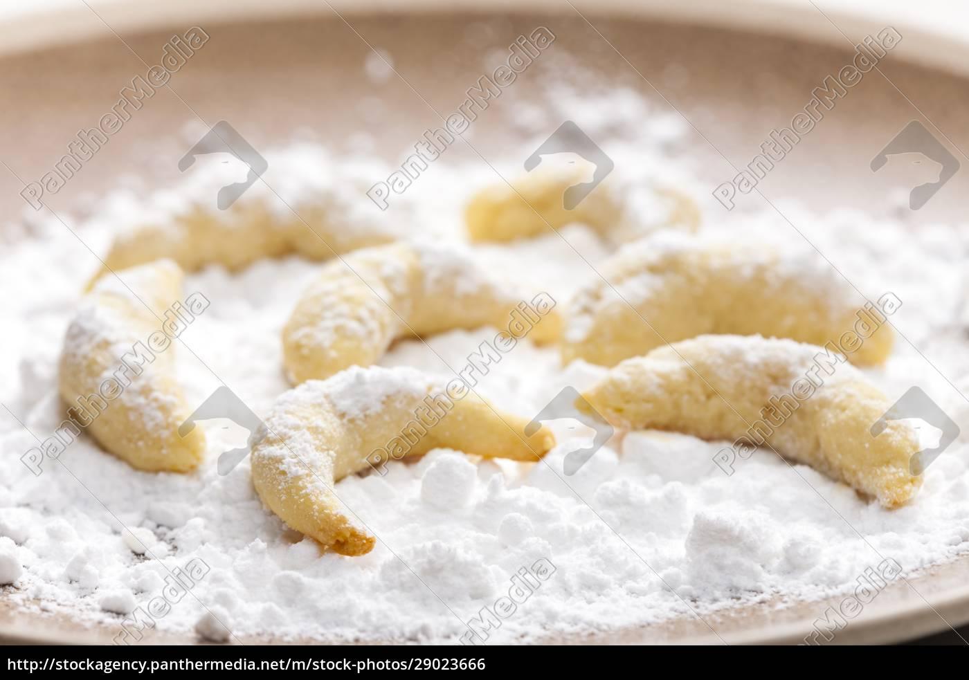 stillleben, von, weihnachts-vanille-keksen - 29023666
