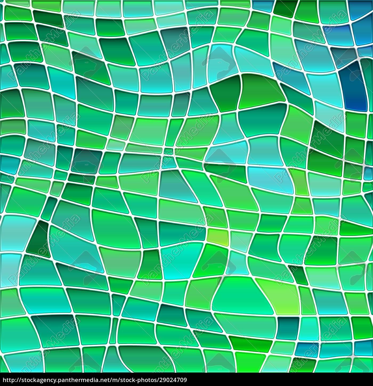abstrakte, buntglas-mosaik, hintergrund - 29024709