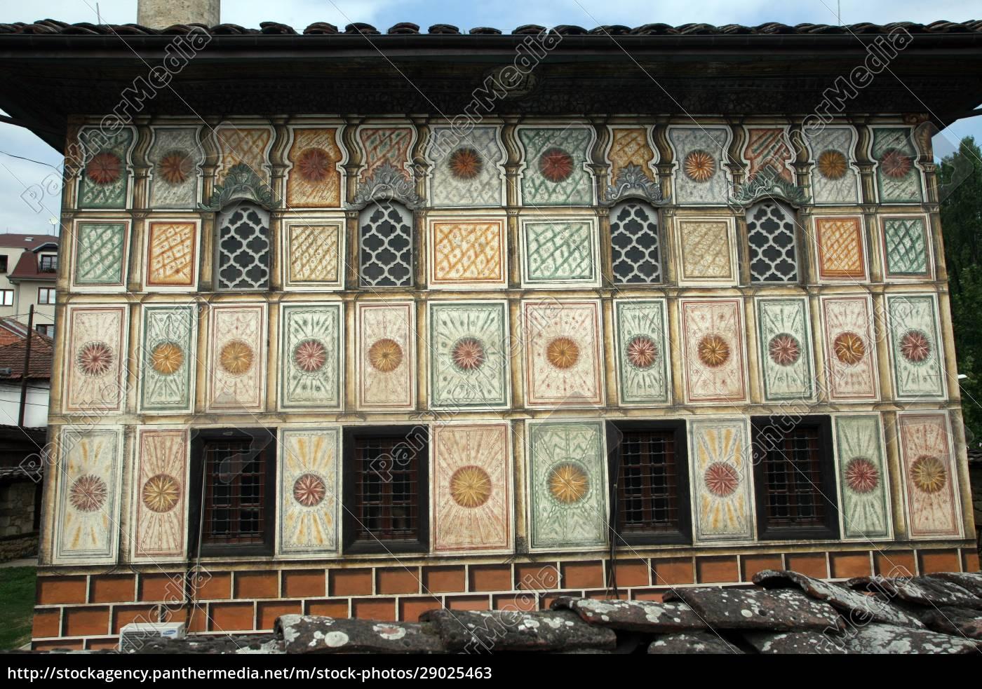 aladza, gemalt, moschee, tetovo, mazedonien - 29025463