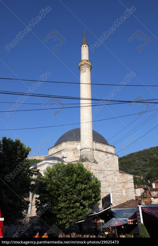sinan-pascha-moschee, prizren, kosovo - 29025473