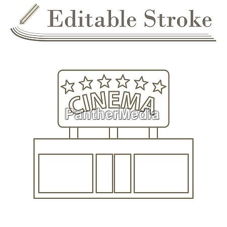 kino eingangssymbol