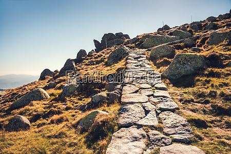 wanderweg uphill