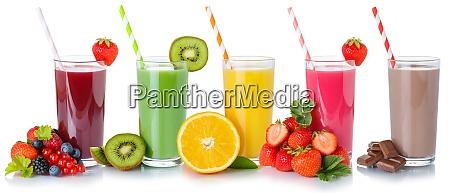 getraenke getraenke fruchtsaft sammlung trinken strohfruechte