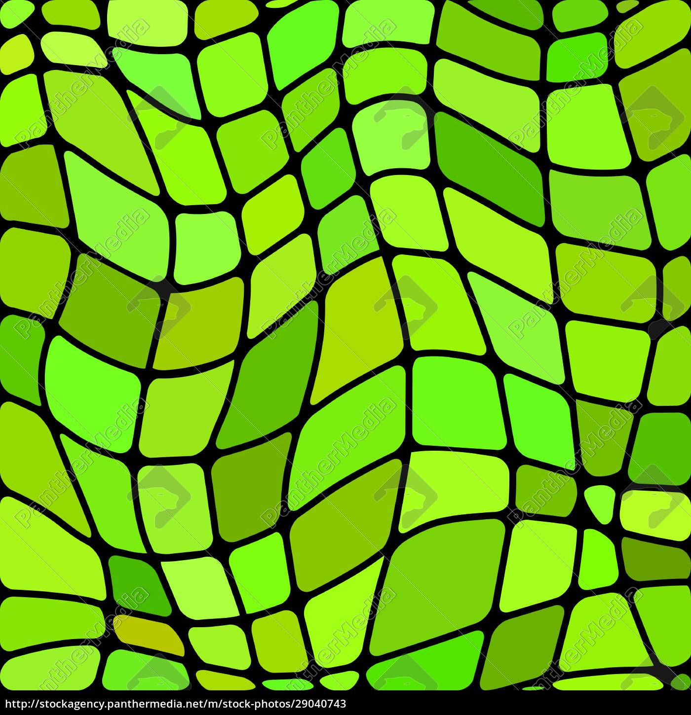abstrakte, buntglas-mosaik, hintergrund - 29040743