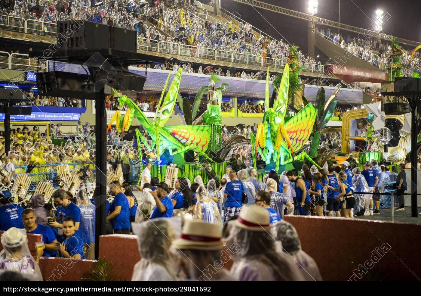 samba, parade, bei, der, 2020, karneval, champions - 29041692