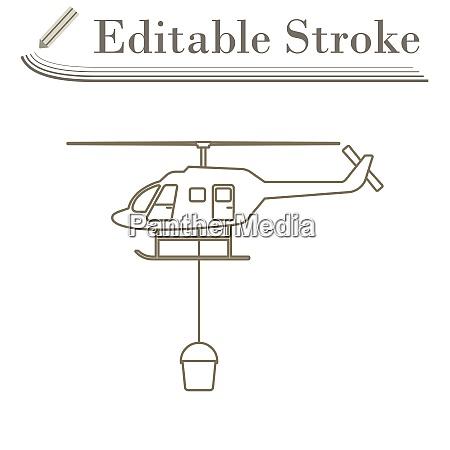 feuerwehr hubschrauber symbol