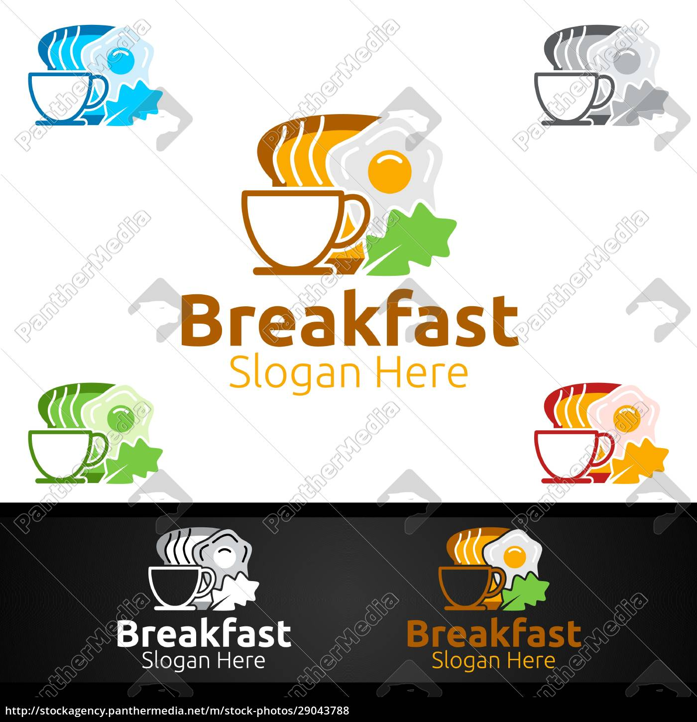 fast, food, breakfast, delivery, service, logo - 29043788