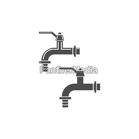 faucet, , icon, design, template - 29045722