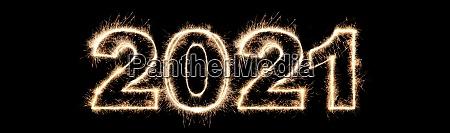 frohes neues jahr hintergrund start 2021