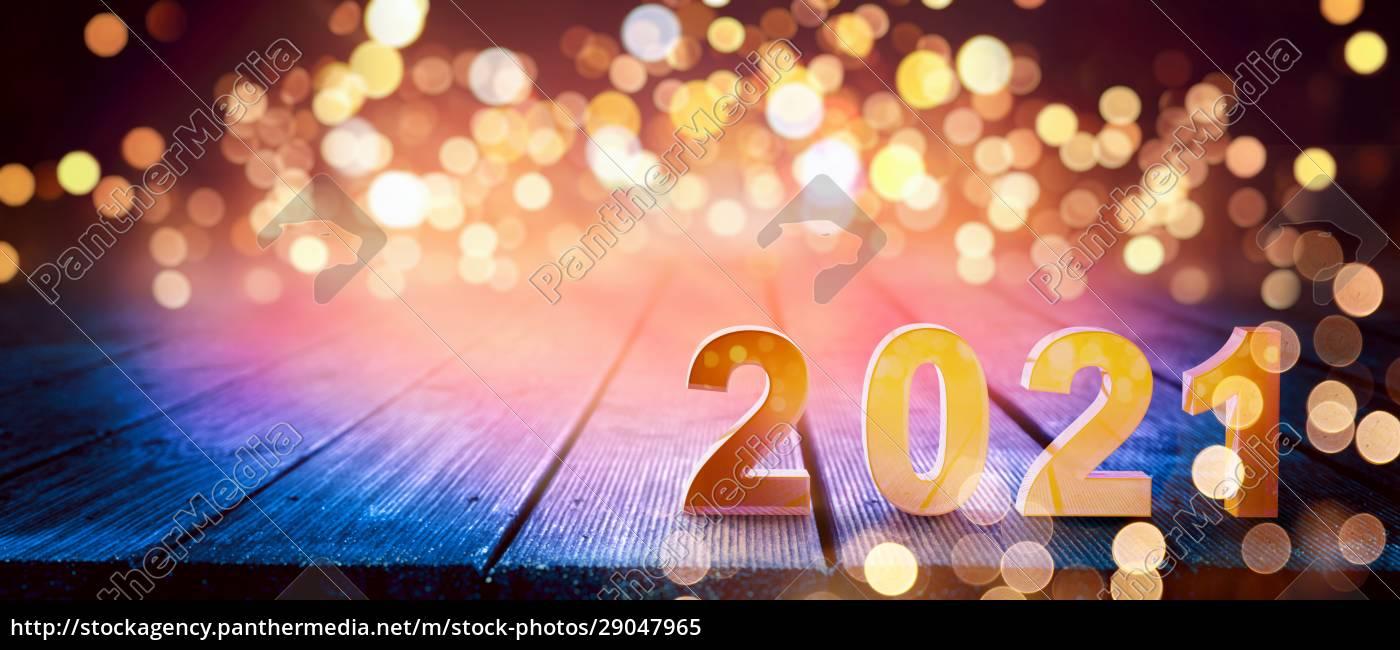 frohes, neues, jahr, hintergrund., start, 2021 - 29047965