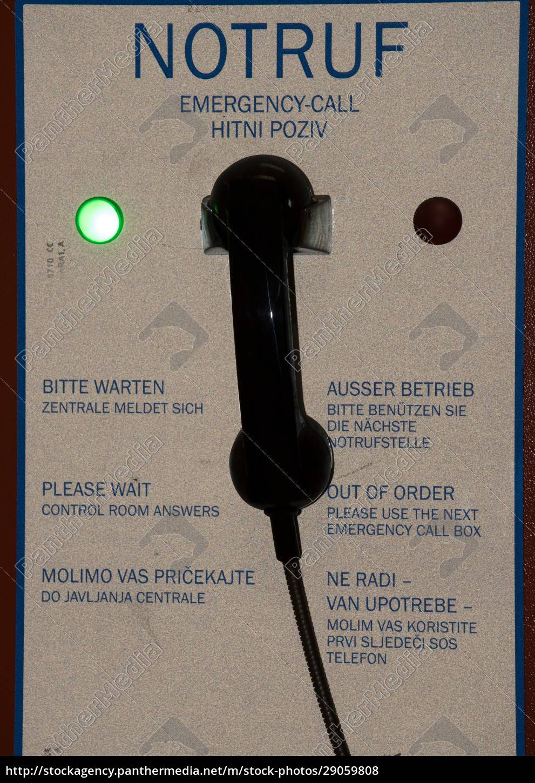 sos-telefon, oder, notruftelefon, auf, einer, autobahn - 29059808