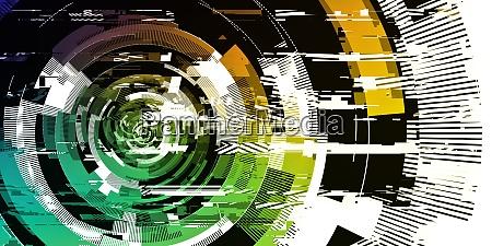 digitalpixel noise glitch