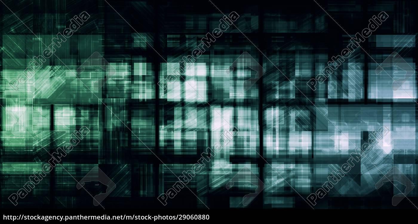 digitales, netzwerk - 29060880