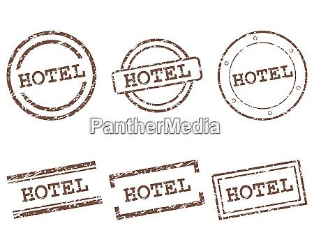 hotel briefmarken