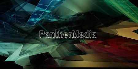 techno werbung abstract