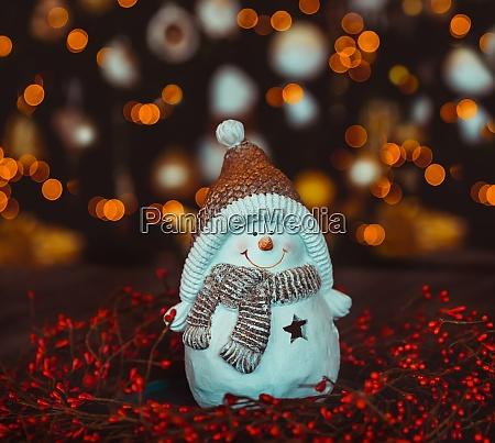 schoene weihnachtsdekoration