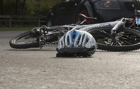 fahrradunfall im strassenverkehr