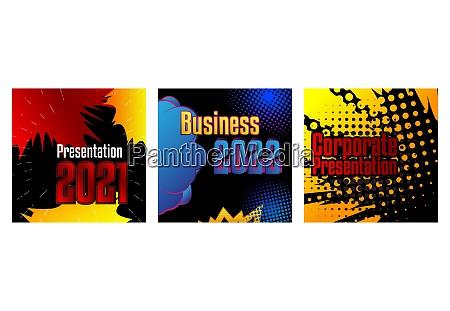 comic buch business praesentationvorlage