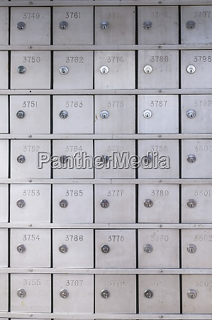 safes in einer bank