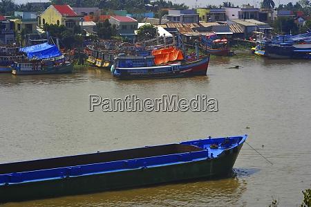 schifffahrt auf dem mekong in vietnam