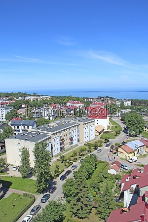 panorama, of, wladyslawowo, town, from, above - 29115167