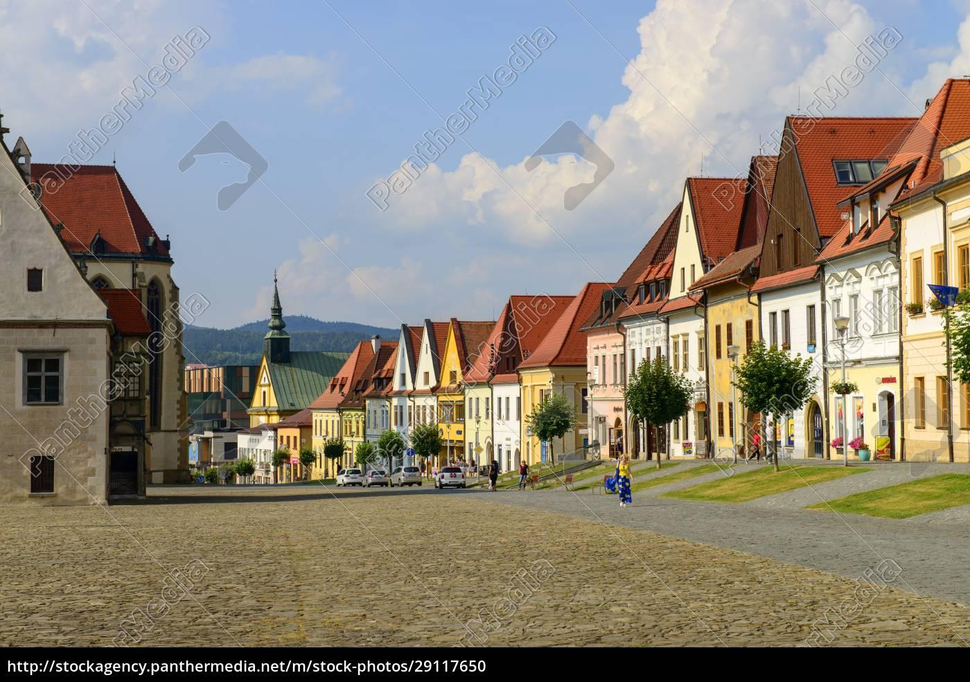 slovakia, , bardejov, , old, town, , city, sqare - 29117650