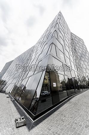 deutschland, freiburg, blick, auf, neu, gebaute, universitätsbibliothek - 29118089