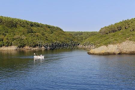 tuerkei schwarzes meer sinop hamsilos fjord