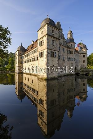germany, , kronach, , moated, castle, mitwitz - 29121373