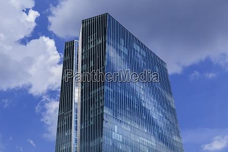 deutschland frankfurt oberteil der europaeischen zentralbank